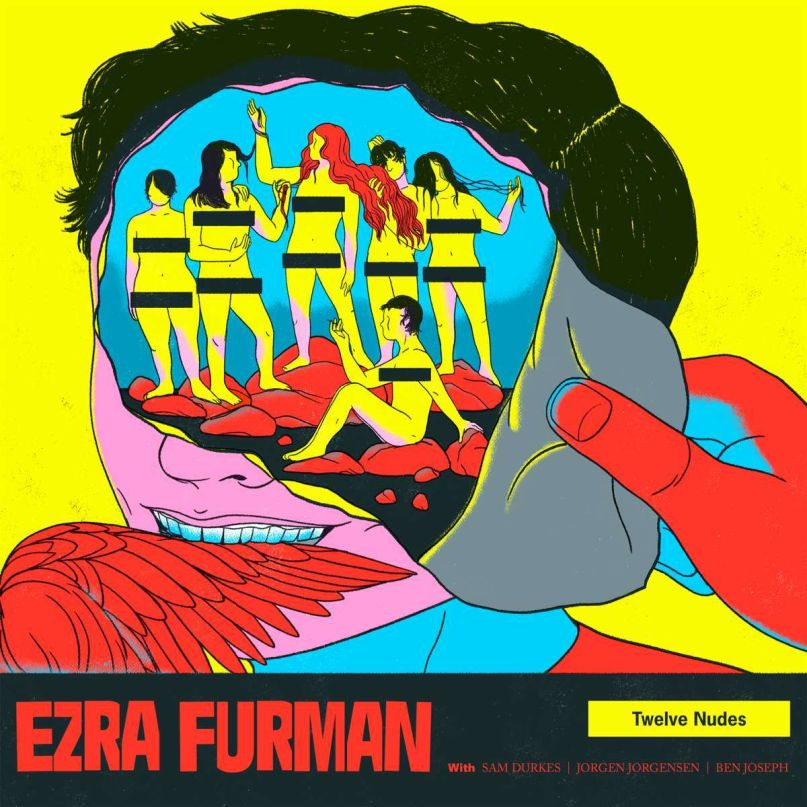 Ezra furman twelve nudes album cover artwork
