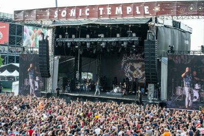 Fans at Sonic Temple Festival