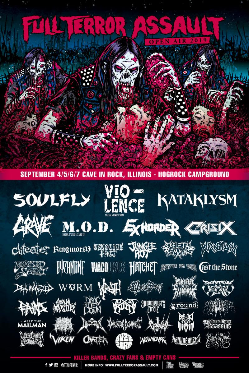 Full Terror Assault festival poster