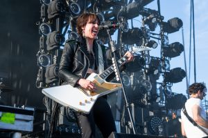 Halestorm at 2019 Sonic Temple Festival