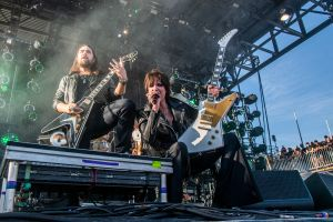 Halestorm at 2019 Sonic Temple Festival