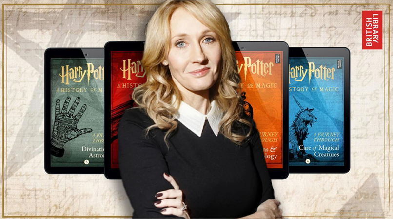 J K Rowling Adding Four New Books To Harry Potter Series Film News Consequence Of Sound