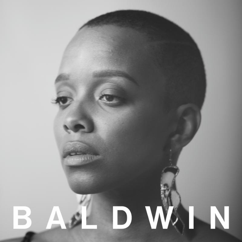 "Jamila Woods ""Baldwin"" New Song artwork"