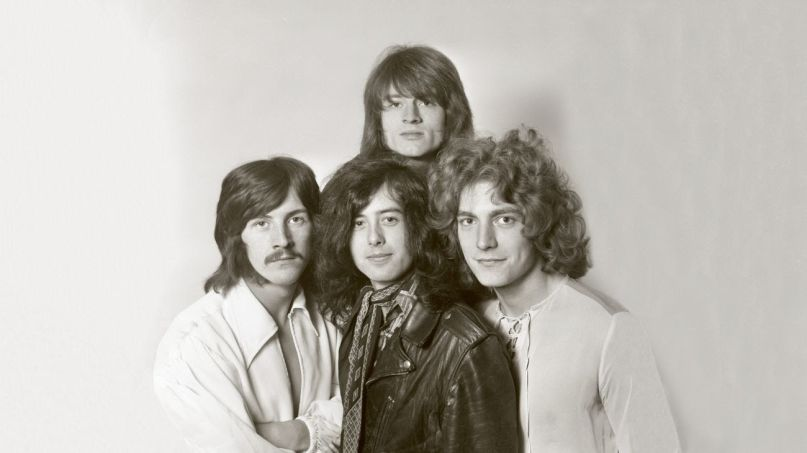 Led Zeppelin, photo by Dick Barnatt / Redferns