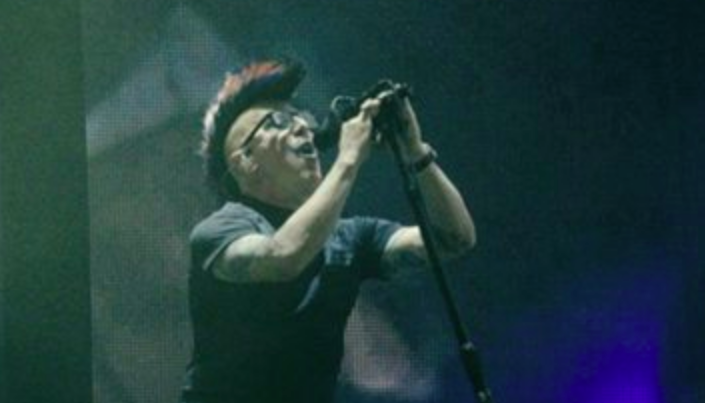 Maynard James Keenan at Tool's tour kick-off