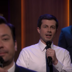 Mayor Pete Buttigieg on The Tonight Show Starring Jimmy Fallon slow jam the news