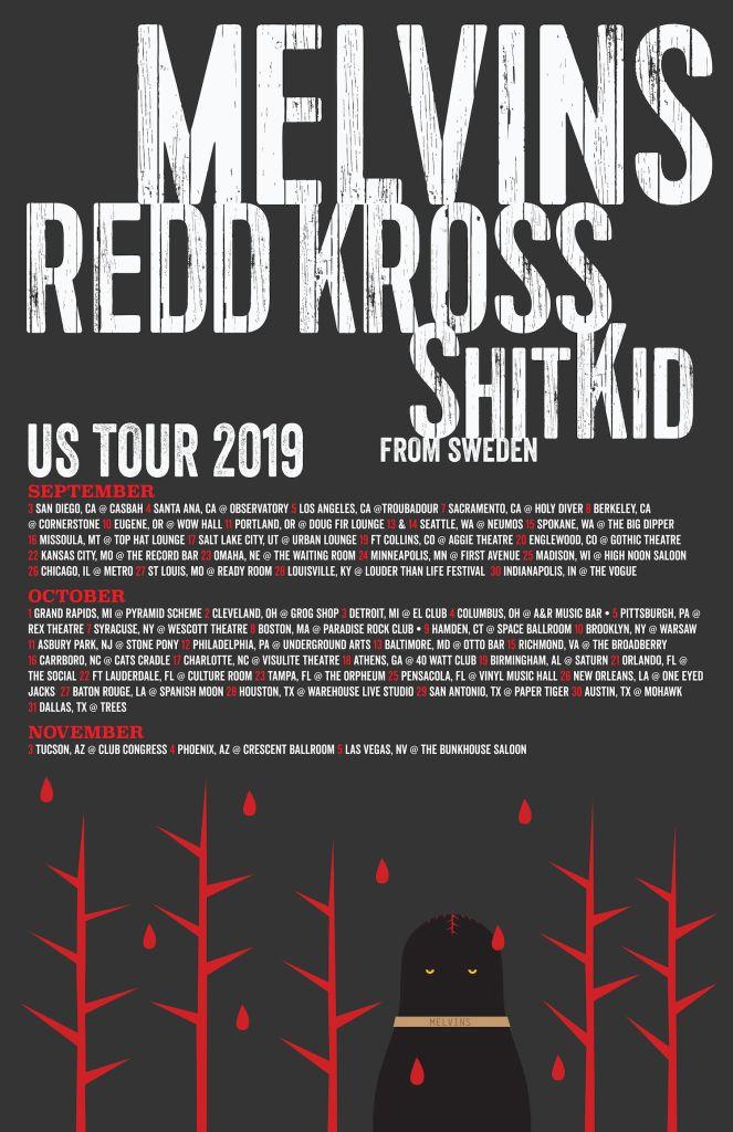 Melvins Tour Poster