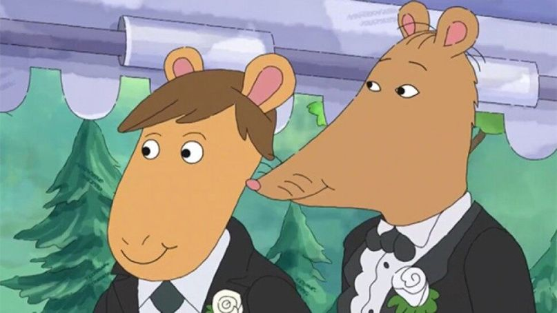 Mr. Ratburn gets married on Arthur
