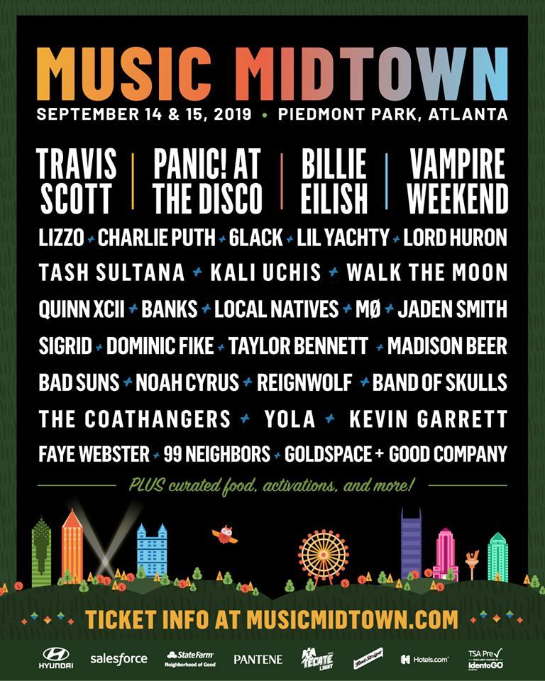 Music Midtown 2019 lineup