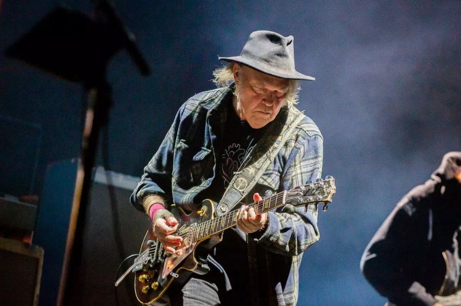 Neil Young Keeps On Rockin After Getting Plug Pulled Music News Consequence Of Sound
