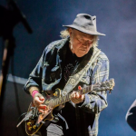 Neil Young, photo by Debi Del Grande BottleRock Napa Festival ROckin in the free world plug pulled