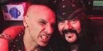 Roy Mayorga and Vinnie Paul