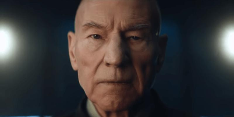 Patrick Stewart in Star Trek: Picard (CBS All Acce) teaser trailer