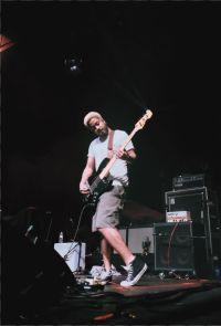 Speedy Ortiz shredding guitar at The Fillmore Miami Beach