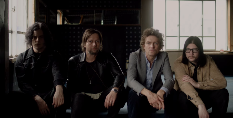 The Raconteurs in Help Me Stranger video