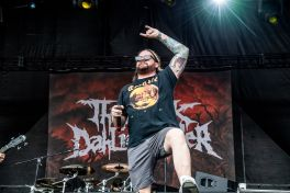 The Black Dahlia Murder at Sonic Temple Festival