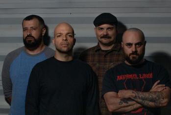 Torche new album Admission single Slide, photo courtesy of band