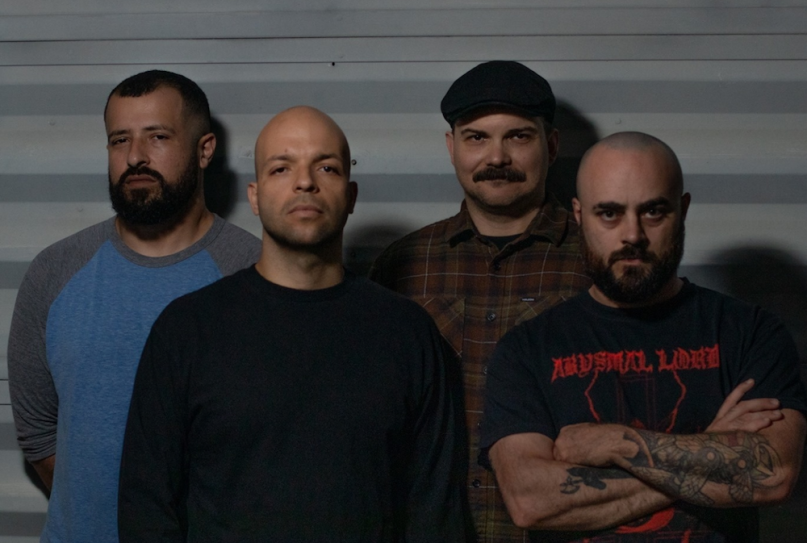 Torche new album Admission single Slide, photo courtesy of band
