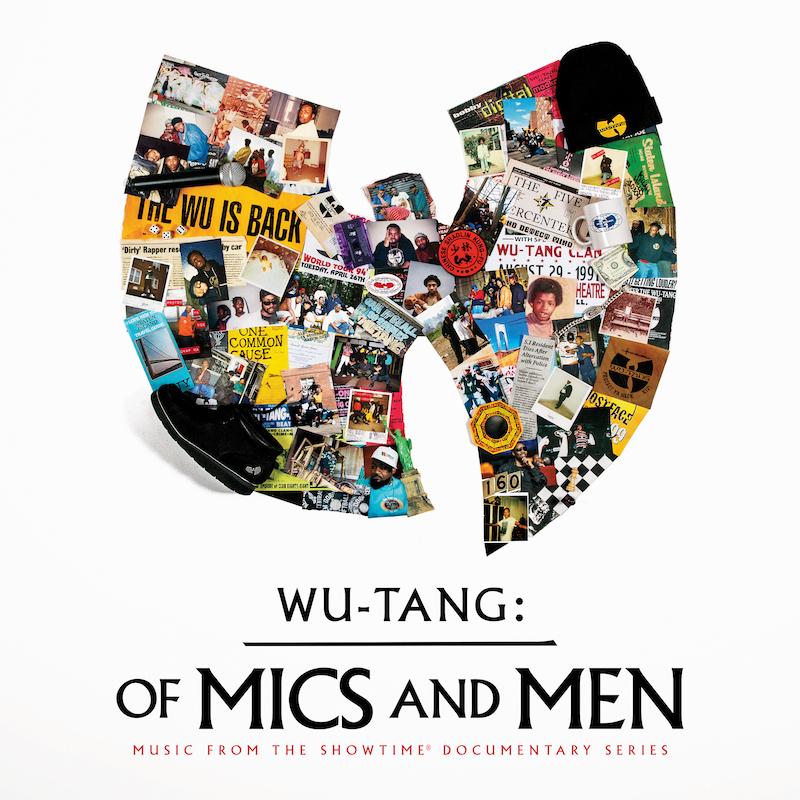 Wu-Tang Clan of Mics and Men EP artwork cover
