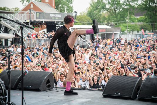 YungBlud at 2019 Sonic Temple