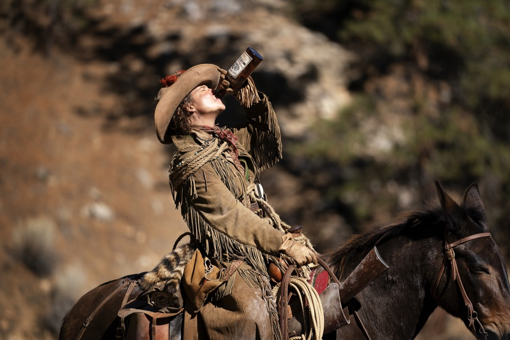 Robin Weigert as Calamity Jane in HBO's Deadwood: The Movie