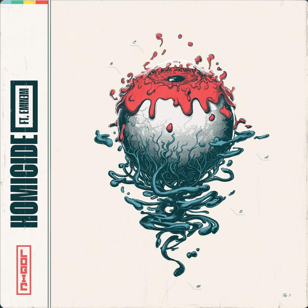 eminem homicide logic new rap music artwork Eminem joins Logic on new single Homicide: Stream