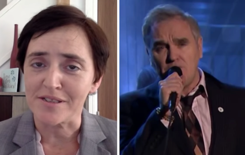 For Britain Anne Marie Waters thanks Morrissey for political support