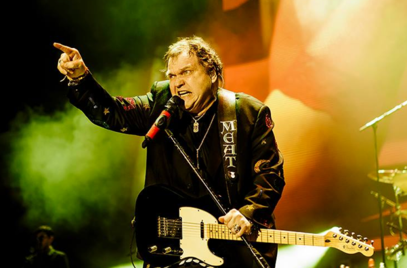 Meat Loaf breaks collarbone falls stage Frightmare injury medical update
