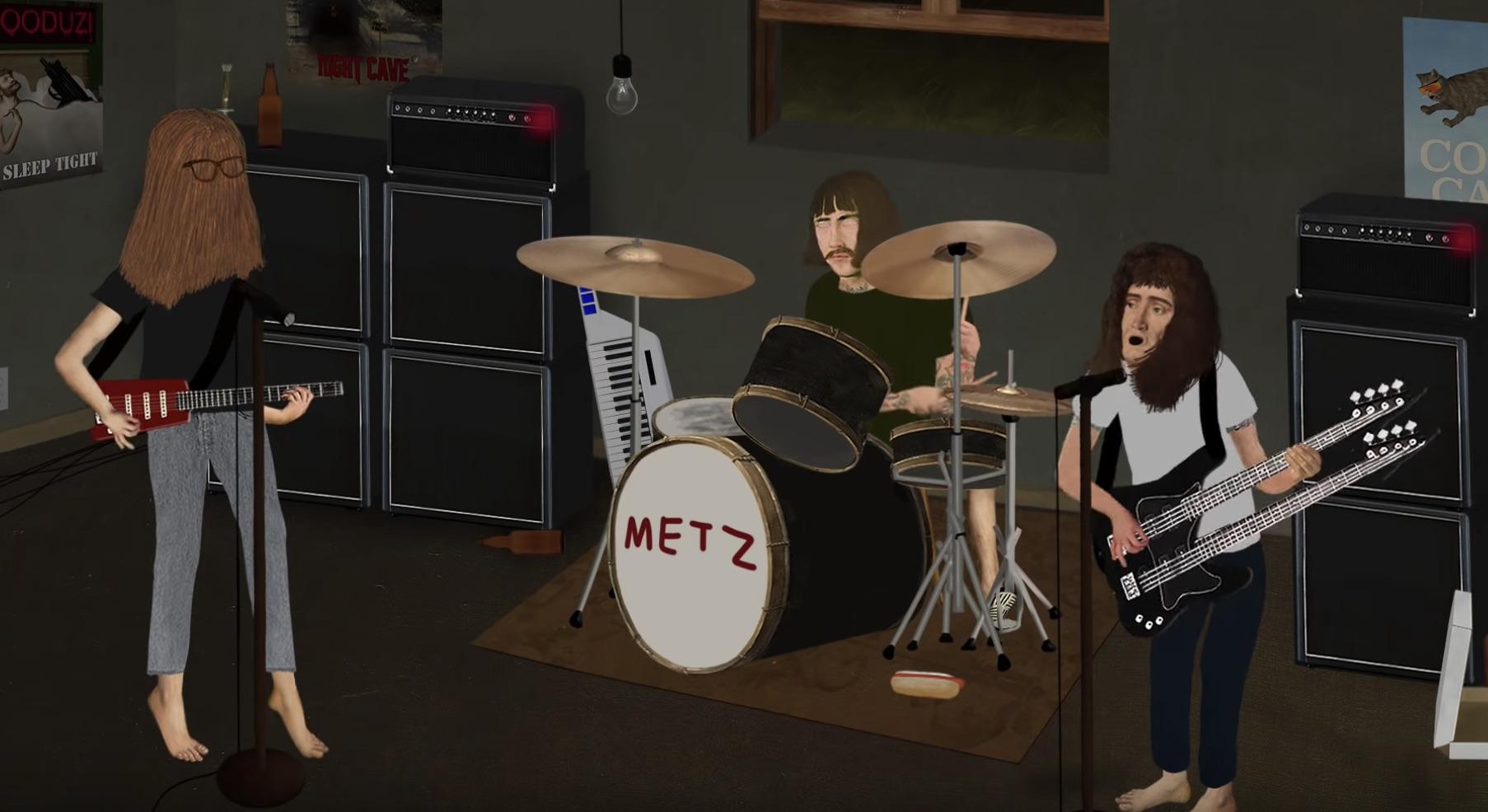 metz pure auto animation music video automat