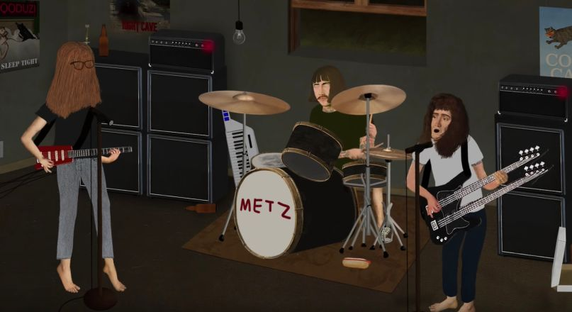 metz pure auto animation music video automat