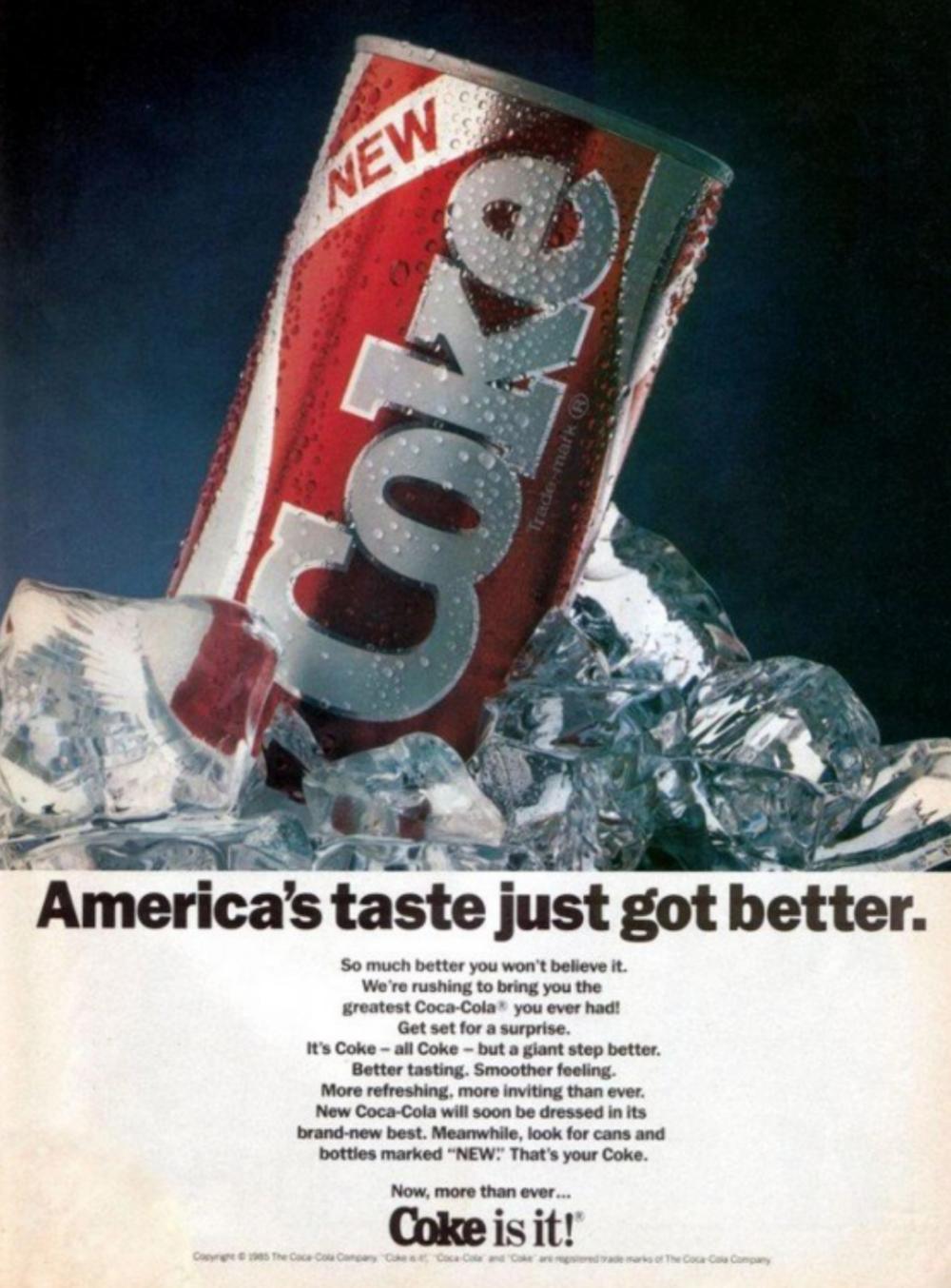 new coke netflix stranger things 1985 New Coke returning to shelves thanks to Stranger Things