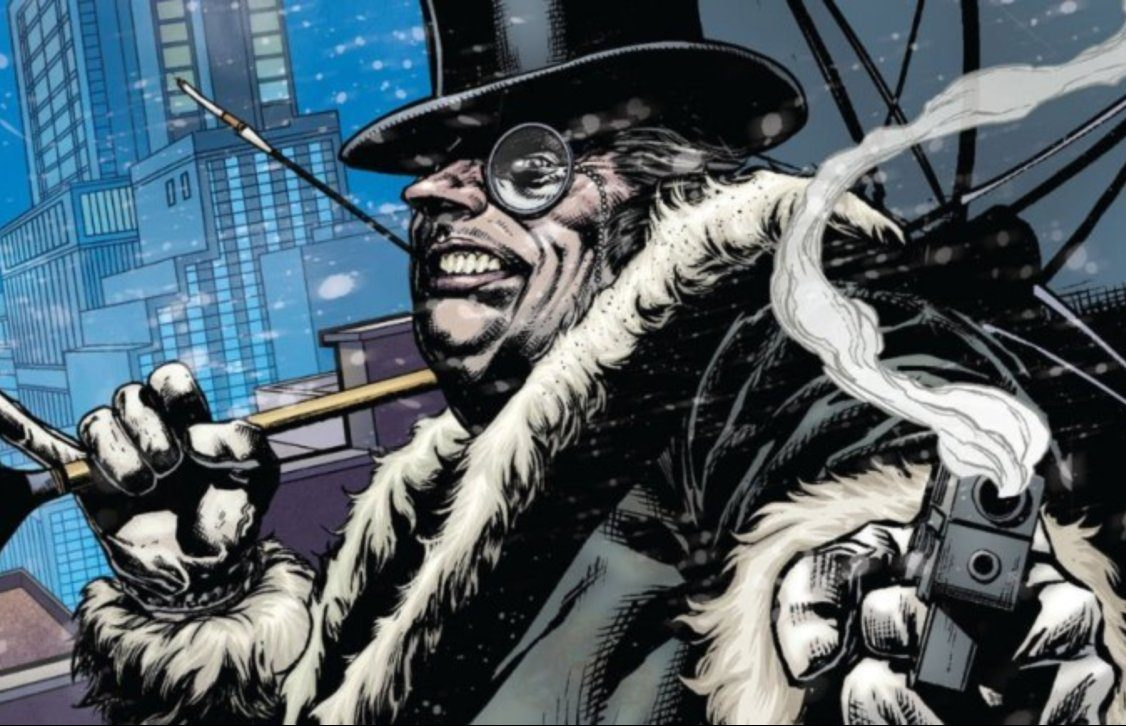 the penguin batman villain dc comics