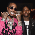 "Quavo 21 Savage ""100 Bands"" Mustard YG new song release rap music"