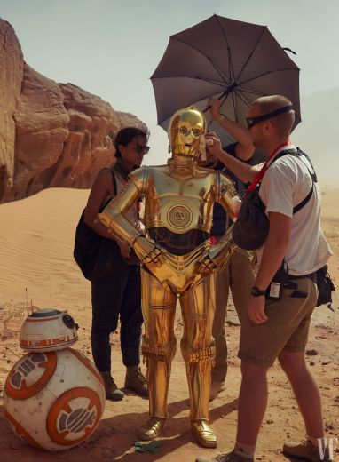 C-3PO and BB-8 in Star Wars: The Rise of Skywalker