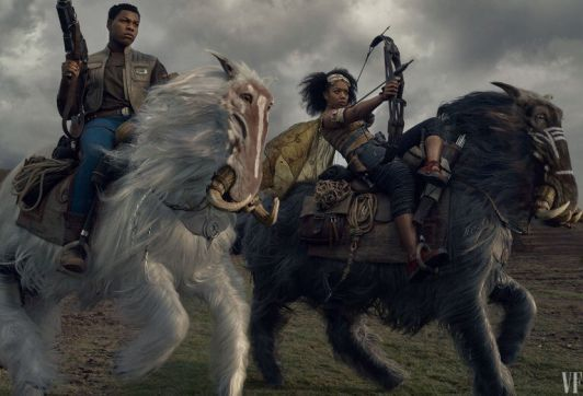 Finn and Jannah in Star Wars: The RIse of Skywalker