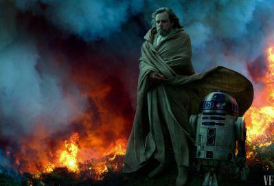 Luke Skywalker in The Rise of Skywalker