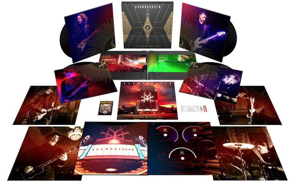 soundgarden live album artists den super deluxe Soundgarden announce new live album and concert film