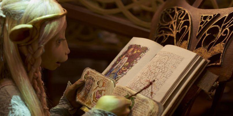 Brea (Anya Taylor-Joy) in The Dark Crystal: Age of Resistance