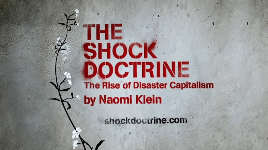 the shock doctrine particle kid origins