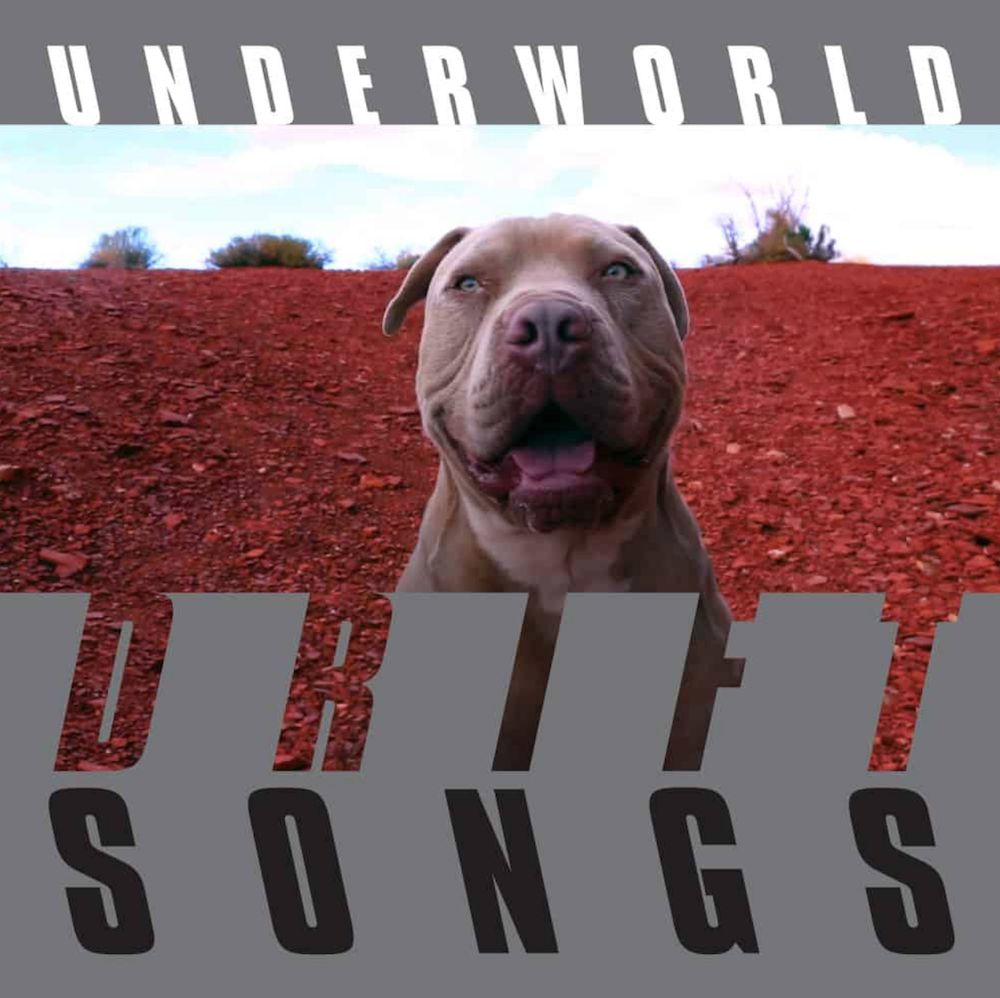 underworld drift songs album artwork cover Underworld announce new album, Drift Songs, share Listen To Their No: Stream