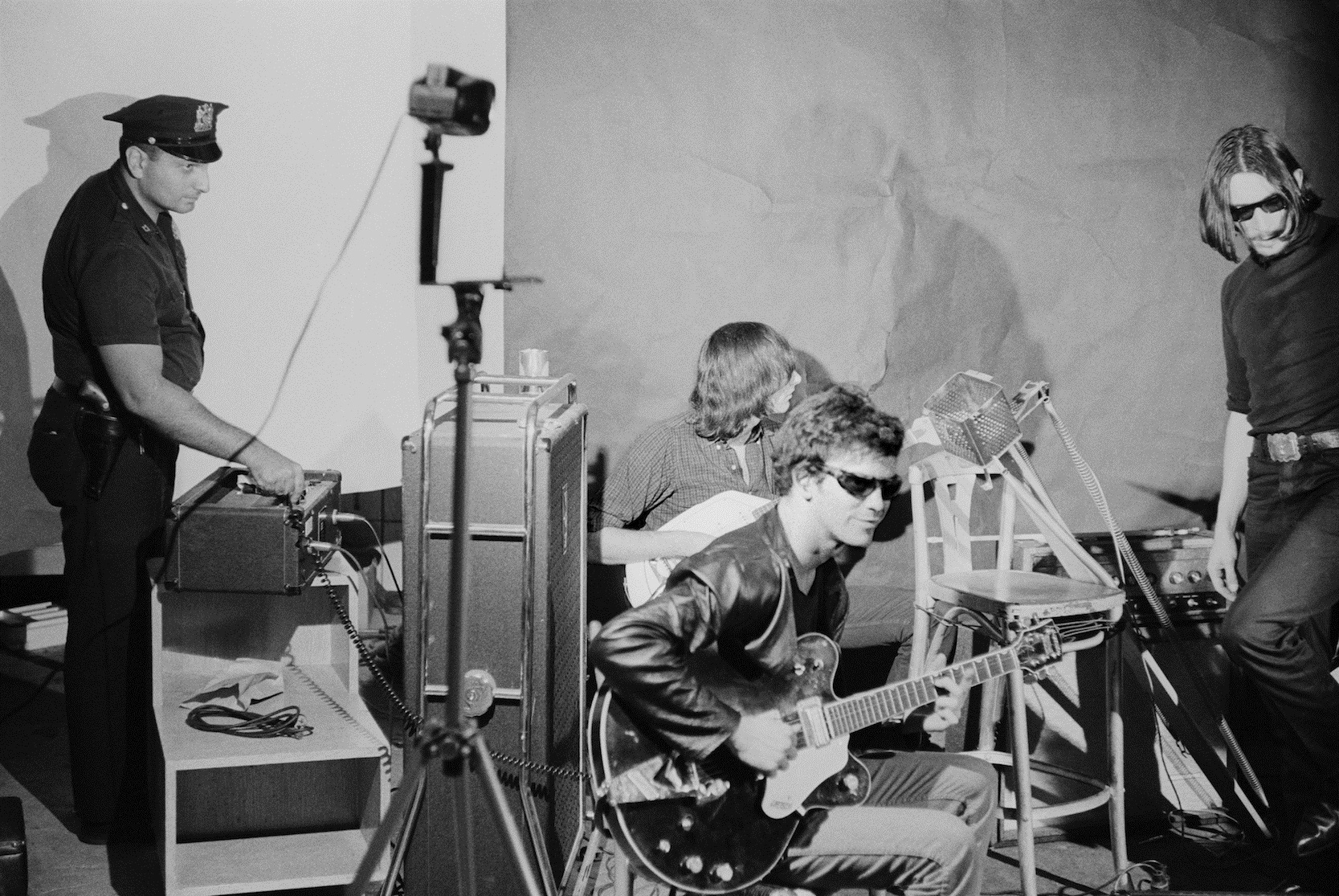 velvet underground band studio photo