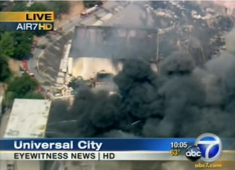 Universal Music Group's 2008 vault fire destroyed 500,000 master recordings: New York Times