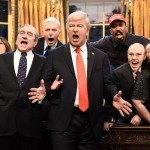 Alec Baldwin as Donald Trump on Saturday Night Live retire so done SNL