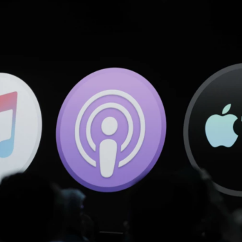 Apple Music, Podcasts, TV