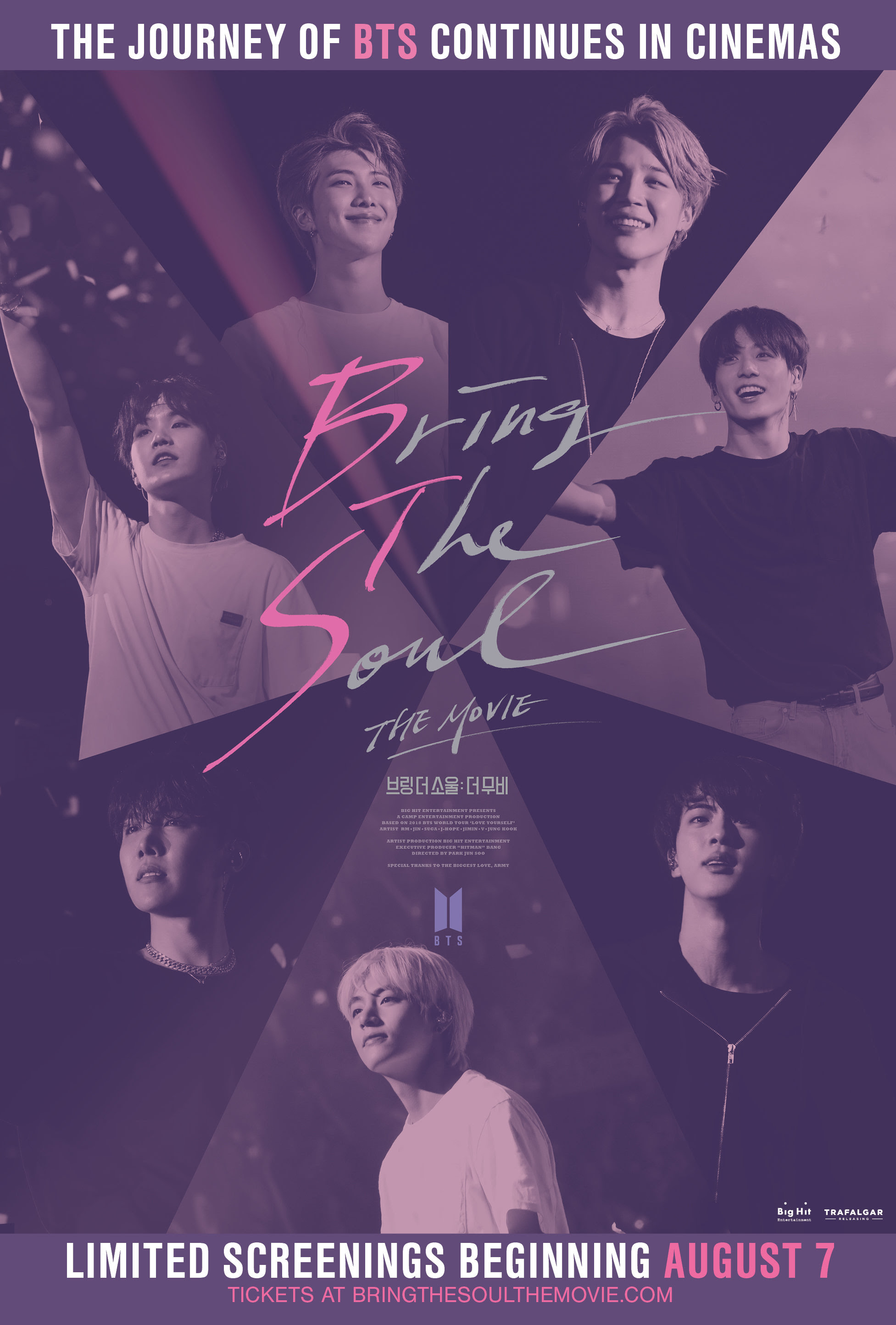 BTS Bring the Soul the Movie poster