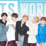 BTS World, photo via Netmarble Corp. Jin Jimin Jungkook new song mobile video game soundtrack Juice WRLD All Night