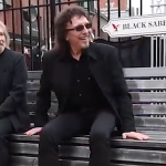 Geezer Butler and Tony Iommi on Black Sabbath Bridge