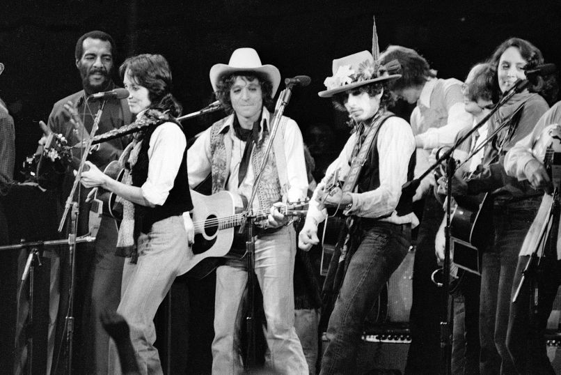 Bob Dylan and Tour in Rolling Thunder Revue