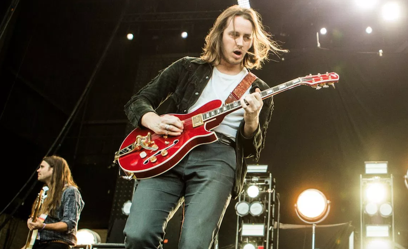 Cage the Elephant canceled tour europe guitarist Nick Bockrath leg injury