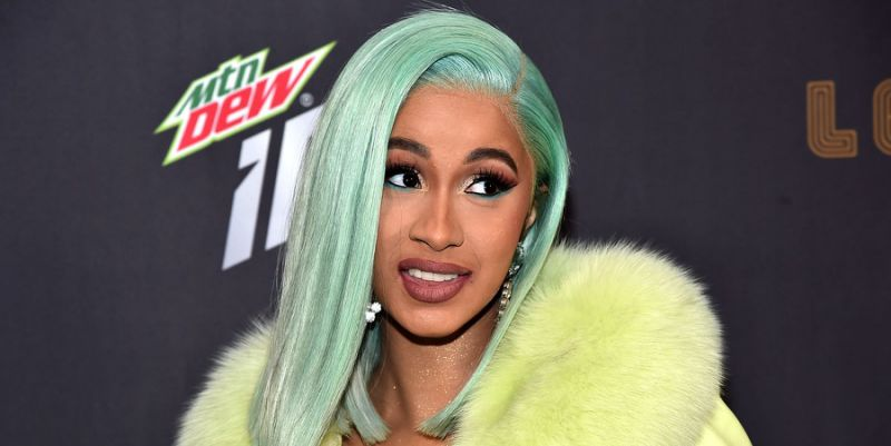 Cardi B Blue Hair: Cardi B Indicted By Grand Jury On Two Felony Counts Of